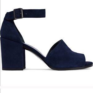 Stuart Weitzman Soho Big Block Heel Sandals